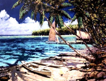 Solitude in the Pacific 2005 Limited Edition Print by Marko Mavrovich