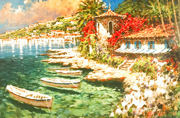 Sunday Morning Regatta 2006 Embellished Limited Edition Print - Marko Mavrovich