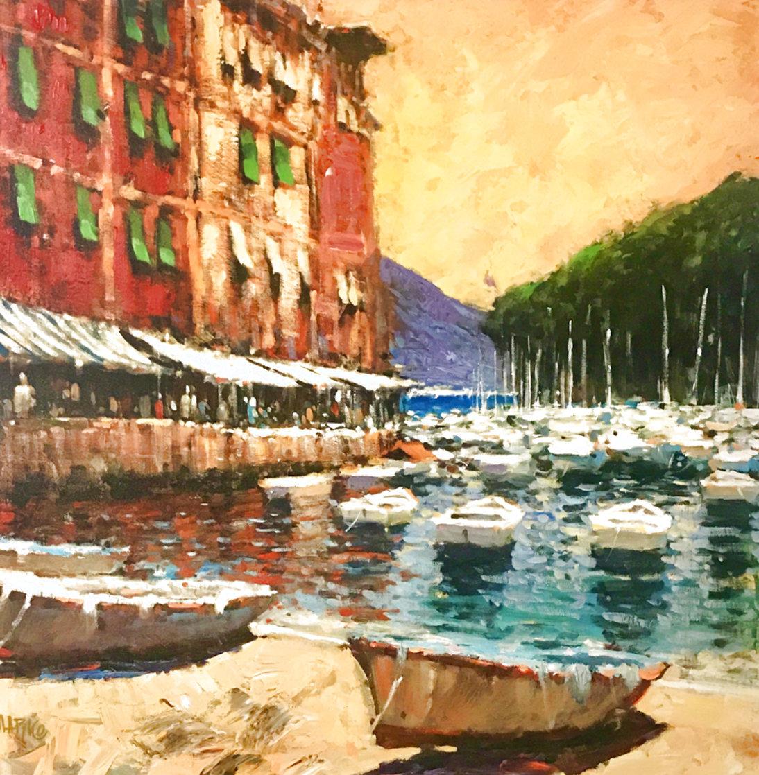 A Day in Portofino 2006 Limited Edition Print by Marko Mavrovich