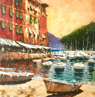 A Day in Portofino 2006 Limited Edition Print - Marko Mavrovich