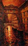 Silent Canal 2005 Embellished Limited Edition Print - Marko Mavrovich