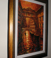Silent Canal 2005 Embellished Limited Edition Print by Marko Mavrovich - 1