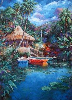 Fishing Hut 1996 Limited Edition Print by Marko Mavrovich