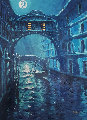 Blue Moon Over Venice Embellished AP 2006 Limited Edition Print - Marko Mavrovich