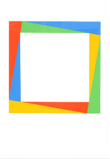 Radiation of a Square 1970 Limited Edition Print - Max Bill