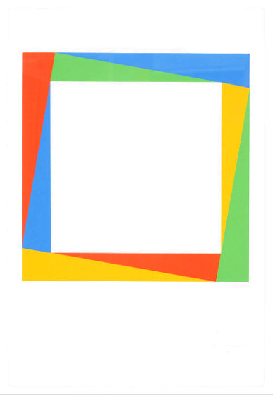 Radiation of a Square 1970 Limited Edition Print by Max Bill