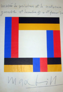 Musee de Painture et de Sculpture Grenoble Limited Edition Print - Max Bill