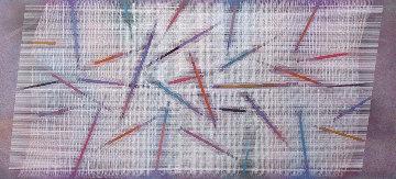 Abrogation 1987 40x80 Huge - Aluminum Original Painting - Paul Maxwell