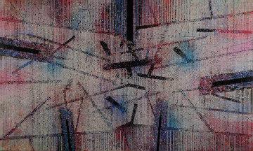 Broaddus 1987 50x80 Original Painting by Paul Maxwell