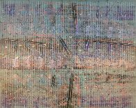 See Through 48x60 Super Huge Original Painting by Paul Maxwell - 0
