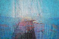 Vista 1989 48x72 Super Huge Original Painting by Paul Maxwell - 0