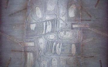 Excavation III 38x60 Original Painting by Paul Maxwell