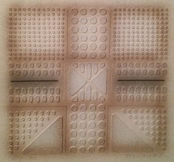 Topo Suite Quadrangle II 23x23 Works on Paper (not prints) - Paul Maxwell