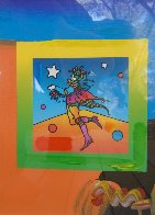 Star Catcher on Blends Unique 2005 10x8 Works on Paper (not prints) by Peter Max - 7