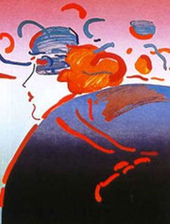 Fantasy Lady Limited Edition Print by Peter Max