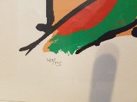 Runner in Brown 1979 Limited Edition Print by Peter Max - 2