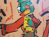 Runner in Brown 1979 Limited Edition Print by Peter Max - 3