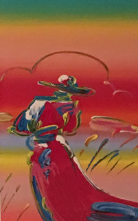Walking in Reeds 2010 Limited Edition Print - Peter Max