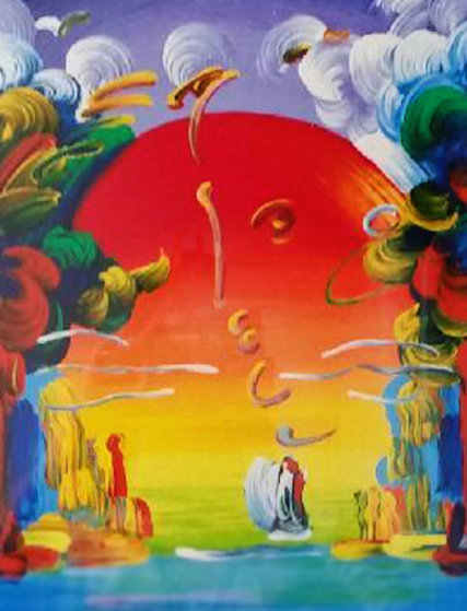 Better World 1989 Limited Edition Print by Peter Max