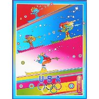 Olympics, Torino 2006 Limited Edition Print by Peter Max - 1