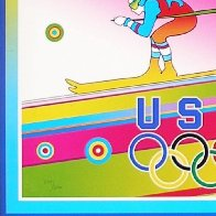 Olympics, Torino 2006 Limited Edition Print by Peter Max - 4