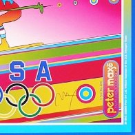 Olympics, Torino 2006 Limited Edition Print by Peter Max - 3
