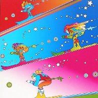 Olympics, Torino 2006 Limited Edition Print by Peter Max - 2