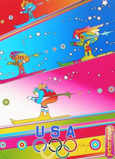 Olympics, Torino 2006 Limited Edition Print by Peter Max