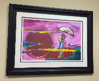 New Moon Unique 2006 39x51 Super Huge Works on Paper (not prints) by Peter Max - 1
