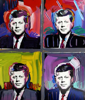 John F Kennedy 1989 Limited Edition Print - Peter Max