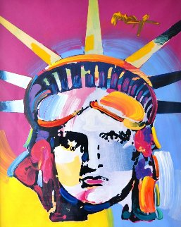 Delta 2006 Unique 36x42 Works on Paper (not prints) - Peter Max