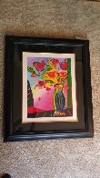 Vase of Flowers 2014 Limited Edition Print by Peter Max - 1