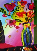 Vase of Flowers 2014 Limited Edition Print by Peter Max - 0