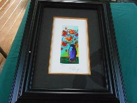 Vase of Flowers 2010 Limited Edition Print by Peter Max - 2