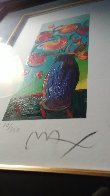 Vase of Flowers 2010 Limited Edition Print by Peter Max - 5