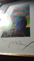 Vase of Flowers 2010 Limited Edition Print by Peter Max - 11