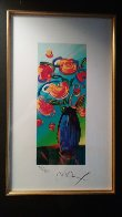 Vase of Flowers 2010 Limited Edition Print by Peter Max - 9