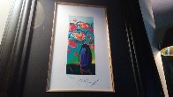 Vase of Flowers 2010 Limited Edition Print by Peter Max - 10