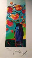 Vase of Flowers 2010 Limited Edition Print by Peter Max - 1