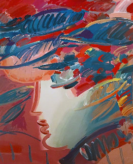 Beauty And the Fauve Suite of 2 1990 Limited Edition Print - Peter Max