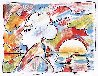 At the Lake PP 1980 Limited Edition Print by Peter Max - 1