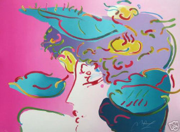 Flower Spectrum 1990 Limited Edition Print - Peter Max