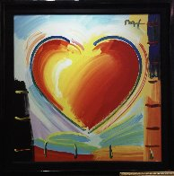 Love Heart 40x40 Original Painting by Peter Max - 5