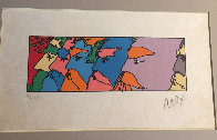 Five Faces Limited Edition Print by Peter Max - 1
