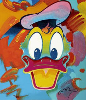 Donald Duck Suite of 4 1994 Limited Edition Print by Peter Max