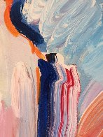 Statue of Liberty  Unique  60x30 Huge Original Painting by Peter Max - 4