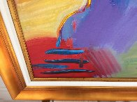Statue of Liberty  Unique  60x30 Huge Original Painting by Peter Max - 5