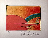 Little Boat II 1976 (Early) Limited Edition Print by Peter Max - 1