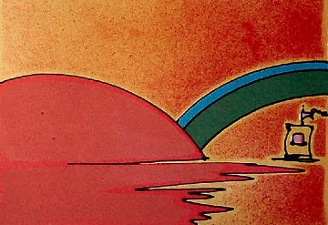 Little Boat II 1976 Limited Edition Print by Peter Max