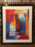 Last Shot (Michael Jordan) dual signature  1999 Limited Edition Print by Peter Max - 1